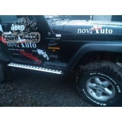 Jeep Wrangler TJ slenksčiai